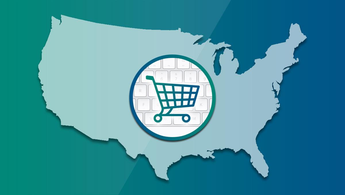 e-commerce negli Stati Uniti
