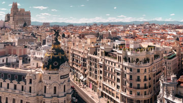 Vista di Madrid