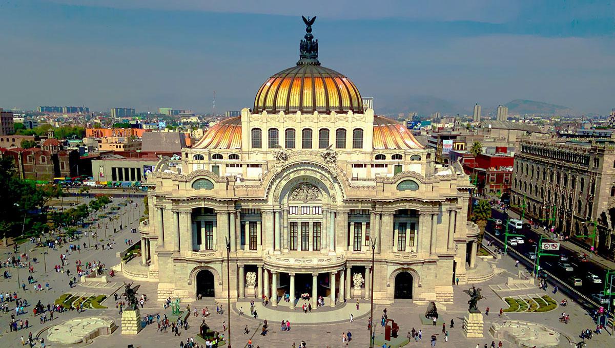Vista di Città del Messico