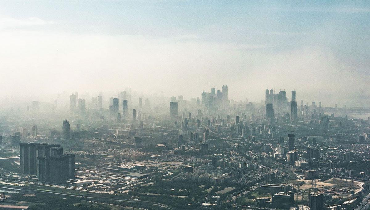 Vista di Mumbai