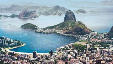 Panorama di Rio de Janeiro