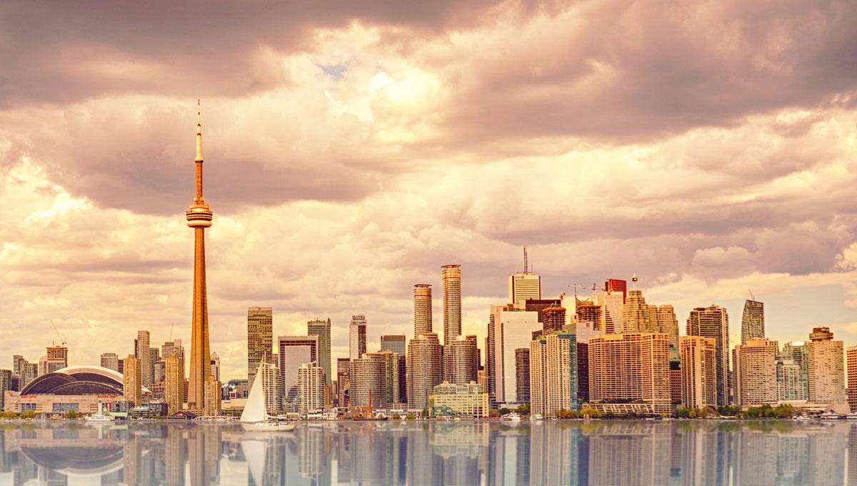 Skyline di Toronto